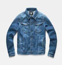 NEW G-Star Raw 3301 Slim Blue Sato Denim Jean Jacket  Sizes M L XL XXL