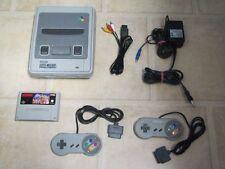 Super Nintendo SNES Konsole + 2 Controller + Tetris & Dr. Mario