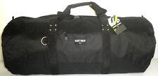 "Black 36"" Roll Shaped Cargo Sports Bag Duffel Travel Camping Huge Duffelbag Big"