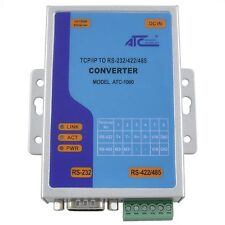 Convertitore LAN Ethernet Seriale RS232 RS485 RS422 emulatore COM TCP ATC-1000