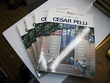 CESAR PELLI ARCHITECTURE & URBANISM,1985. JAPANESE & ENGLISH!