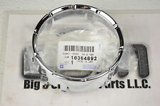 2007-2012 GMC Acadia LH or RH Side Front Fog Lamp Light Bezel new OEM 10364892