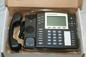 (5) Grandstream GXP2020 IP VoIP 6 Line Business Office Telephone Lightly Used