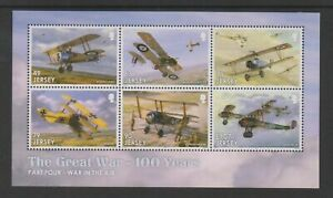 Jersey 2017. Centenary of the Great War.  MS2182 MNH