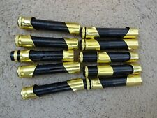 10 Rod Building Wrapping Vintage Black/Gold Allen reel seats