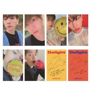 KPOP EXO BAEKHYUN SOLO 2 Delight Album LOMO Official Photocard Photo Card
