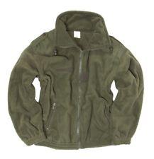 NEU Original Franz Armee Fleece POLAR Jacke Pullover oliv XL-3XL