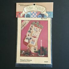 Button Babies by Cheri Quilting Pattern Packet Hung by Chimney Stocking #6253