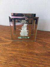 Glitter Tea Lite Snowman Holder