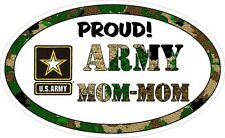 Army Mom Mom Military Vinyl Decal Proud
