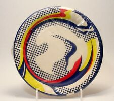 Roy Lichtenstein Bert Stern Package of 9 Paper Plates - In Wrapping -1969 MINT