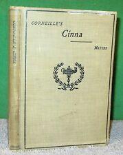 Vintage Book - Corneille's CINNA ou La Clemence D'Auguste 1909 DC Heath
