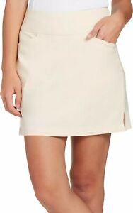 Lady Hagen Women's Golf Tennis Skirt Size Large Cream Off White, NWT!