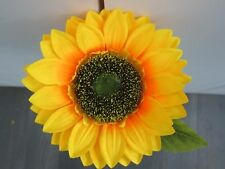 Silk 75cm Giant Single Stem Sunflower Wedding Flowers Party Prom Artifical
