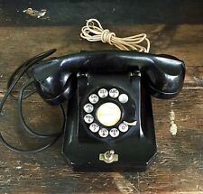 Rare Vintage Telephone Stromberg Carlson Desktop With On/Off Switch Look!