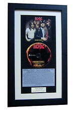 AC/DC Highway To Hell CLASSIC CD Album GALLERY QUALITY FRAMED+FAST GLOBAL SHIP