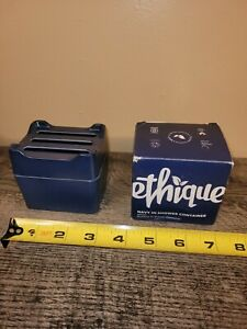 Ethique Navy Bamboo - Sugarcane In-Shower Storage Container 1 ea