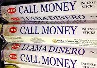 Call Money Hem Incense 20 sticks per sleeve Llama Dinero Three Sleeves 60 Sticks