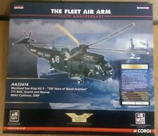 Corgi AA33416 Westland Sea King HU5 771 NAS S&R 2009 Ltd Ed No. 0001 of 1700