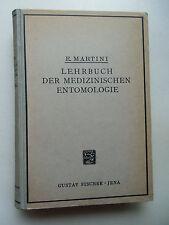 Lehrbuch medizinischen Entomologie 1923 Medizin Tiermedizin