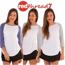 Jersey Regular Size Basic Tees for Women