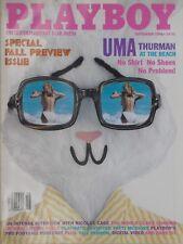 UMA THURMAN September 1996 PLAYBOY Magazine PATTI McGUIRE / JENNIFER ALLAN