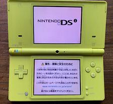Nintendo DSi console Lime Green Japanese