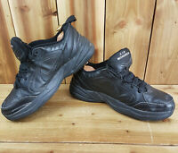 Nike Air Monarch IV All Black Mens Trainers UK 11 415445-001 EUR 46 Shoes
