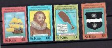 St Kitts 1985 SG#181-184 Christmas set MNH
