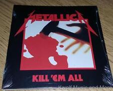 "METALLICA  ""Kill 'Em All""  First Remaster   NEW   (CD, 1983/2016)"