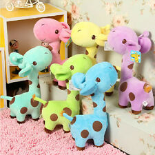Lot 5x Cute Giraffe Dear 7'' Soft Plush Toy Animal Dolls Baby Kids Birthday Gift