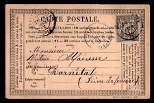 SAGE 77 sur Carte Postale de Darnétal = Cote 30 € / Lot Classique France
