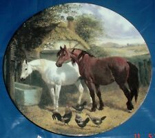 Royal Doulton Limited Edition Collectors Plate DRINKING AT THE WATER TROUGH