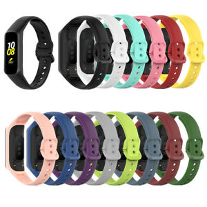 Sport Silicone For Samsung Galaxy Fit 2 SM-R220 Watch Band Replacement Strap*