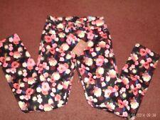 justice--girls-size 10.5 plus- super skinny denim jeans --flower print -- nwt