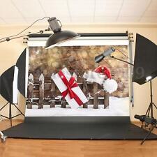 7x5ft Vinyl Photography Backdrop Studio Background Christmas Xmas Photo Props