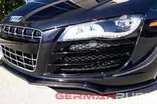 2007-2010 AUDI R8 CARBON FIBER  NEW GERMAN RUSH FRONT SPLITTER