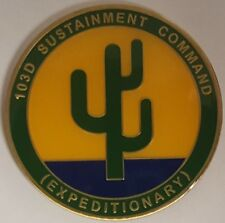 US Army 103D Sustainment Command Expedionary Operation New Dawn 2010-2011 Iraq