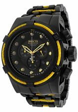 New Invicta Reserve 52mm Bolt Zeus Swiss Made Quartz Chronograph Bracelet 14063