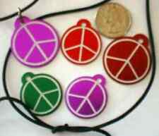 LASER DOG, CAT & PET ID TAGS! PEACE SIGN TAG- COOL!