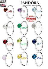 Pandora Birthstone Rings - JAN to DECEMBER - Perfect Gift Idea
