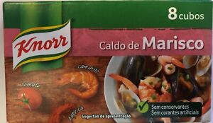 Knorr -  Seafood Broth - 4 Boxs - 8 Stock Cubes Each