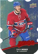 17/18 UPPER DECK MVP COLORS & CONTOURS LEVEL 2 BLUE #65 SHEA WEBER *36788