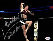 Valentina Shevchenko autographed signed inscribed 8x10 photo UFC Bullet PSA COA