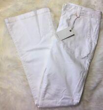 JOIE Jeans Size 31 Jane Flare Pants White Denim Slightly Stretchy with Pockets
