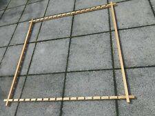 Seiden Spannrahmen für Seidenmalerei Holz Keilrahmen groß verstellbar b. 96x96cm