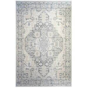 Grey Traditional Eco Cotton Rugs | Non Shed Flatweave Area Rug | Long Runner Rug