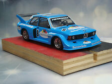 1:32 SLOT CAR REVELL BMWW 320 DRM 1977 GROUP 5 FRUIT OF THE LOOM #8 SILICONES