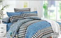 Brand new Duvet Cover Set Quilt Bedding Set With Pillow Cases & Fitted Sheet
