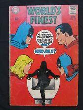 WORLD'S FINEST #176 - NEAL ADAMS - BATMAN & SUPERMAN - NICE SOLID COPY!!